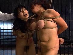 恥ずかし過ぎる身体…三段腹、垂れ乳のだらしない熟女の全裸調教03