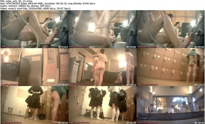 Spa [NO.1975] Voyeur enchanted girls with new HD cam, SCK class!! Vol.21